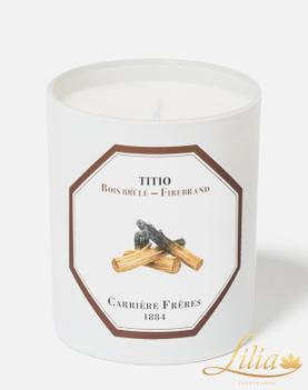 LUXURY AROMATIC CANDLE CARRIÈRE FRÈRE TITIO